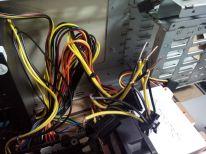 modificando la fuente para fabricar un conector de 8 pines